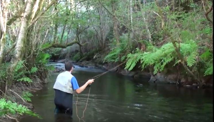 la pesca fluvial