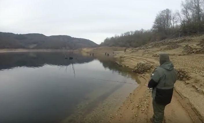 pesca en los pantanos