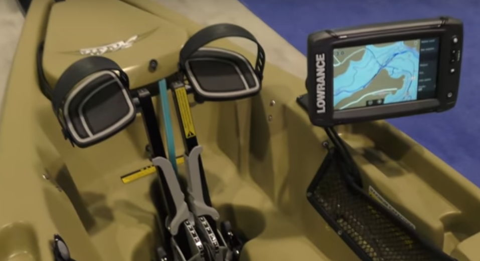 Sondas para pescar con kayak